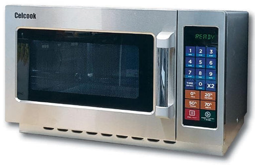 Celcook CMD1000T Commercial Touchpad Microwave with Filter - 1000W - Omni Food Equipment