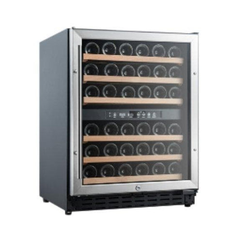Coolasonic JC132E Single Swing Glass Door Commercial Under Counter Wine Cooler - Omni Food Equipment
