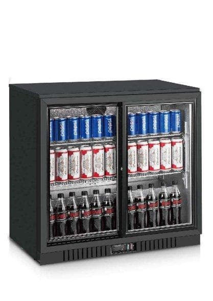 Coolasonic LG208S Double Door Back Bar Cooler - Omni Food Equipment