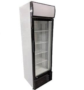 "Coolasonic P238WA Single Door 21"" Wide Display Refrigerator - Omni Food Equipment"