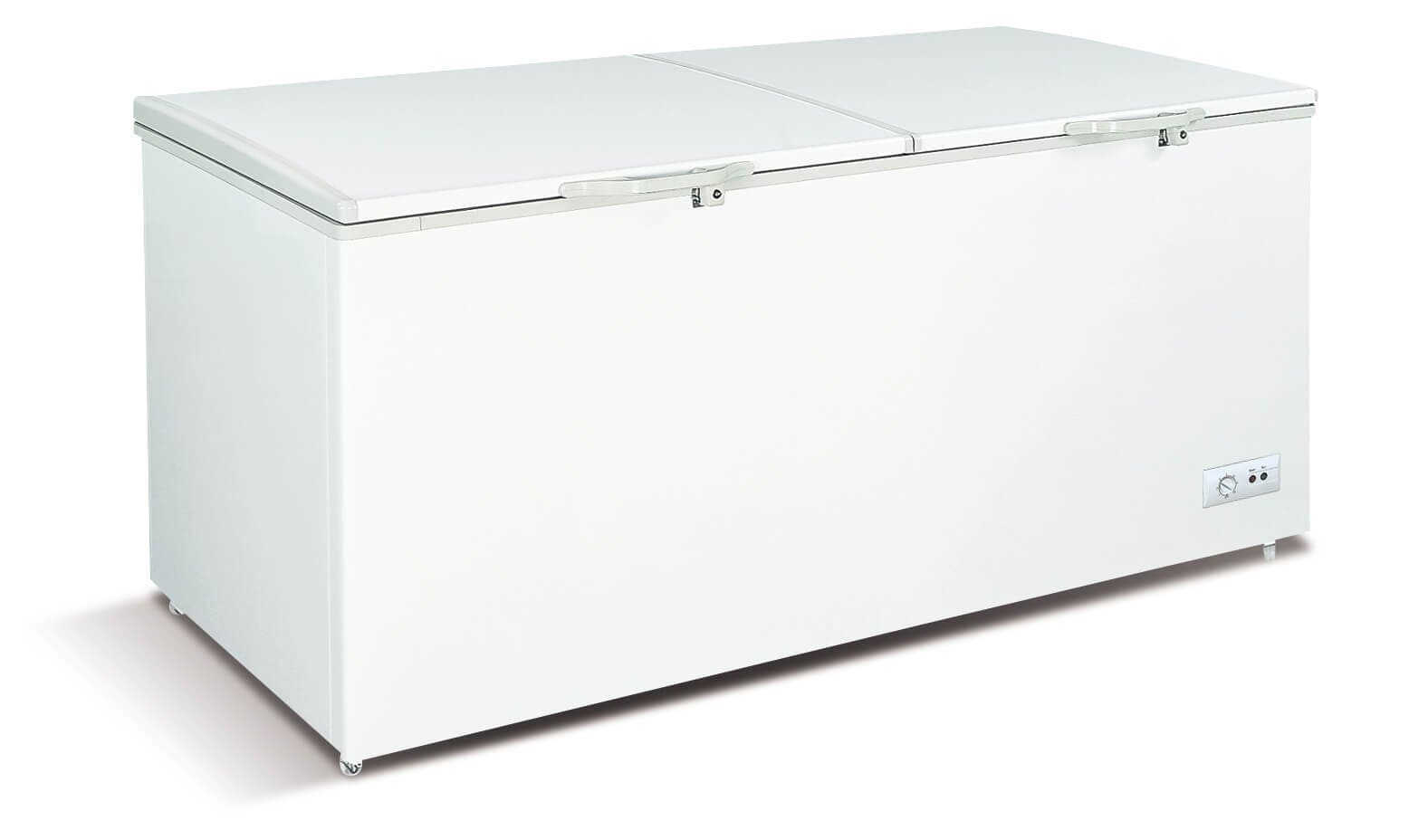 "Coolasonic SCF600 Solid Door 76"" Storage Chest Freezer - Omni Food Equipment"