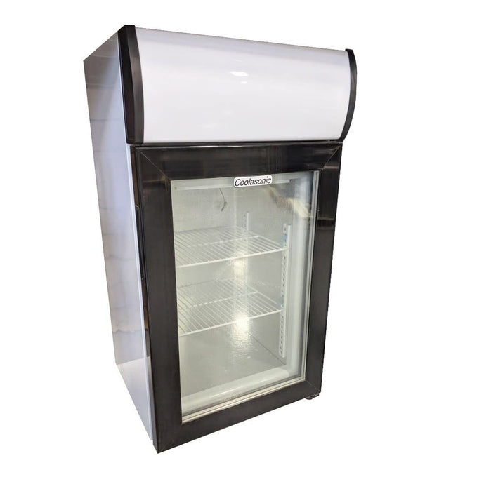 Coolasonic SD50B Single Door Counter Top Display Freezer - Omni Food Equipment