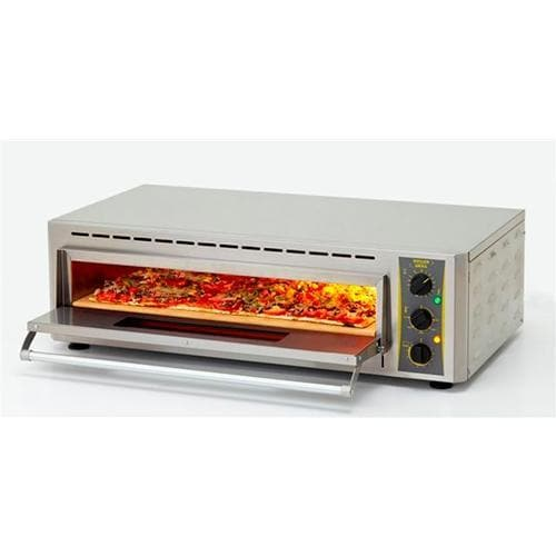 "Equipex PZ-4302D Electric 26"" Single Deck Counter Top Pizza Oven - 208-240V - Omni Food Equipment"