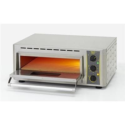 "Equipex PZ-430S Electric 17"" Single Deck Counter Top Pizza Oven - 120V or 208-240V - Omni Food Equipment"