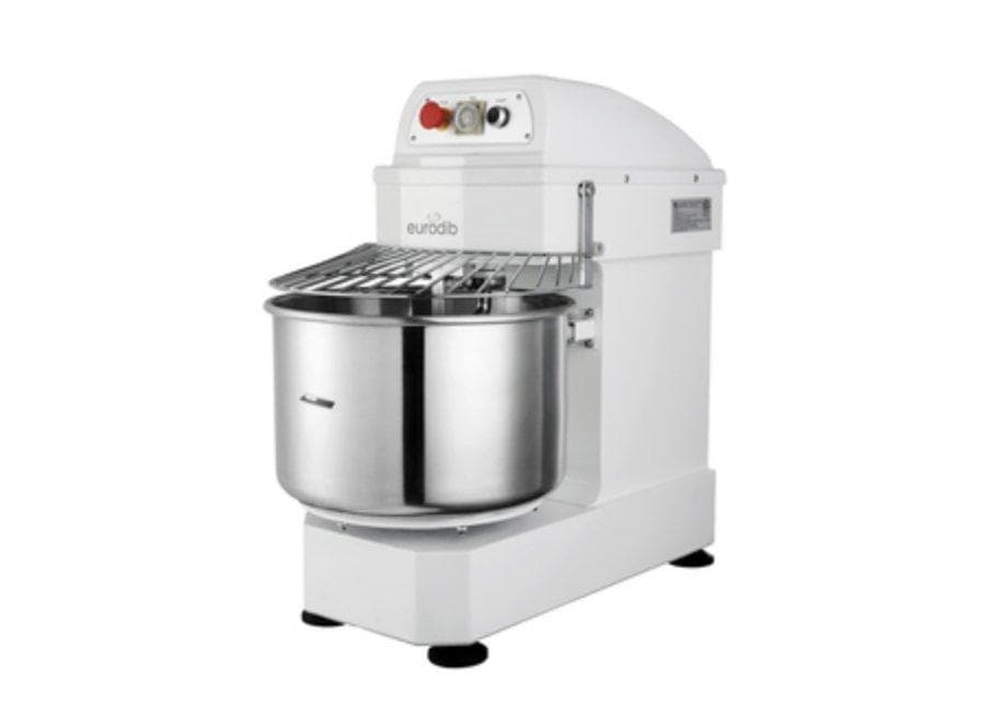 Eurodib LM30T Single Speed Commercial Spiral Mixer - 30Qt Capacity, Single Phase - Omni Food Equipment