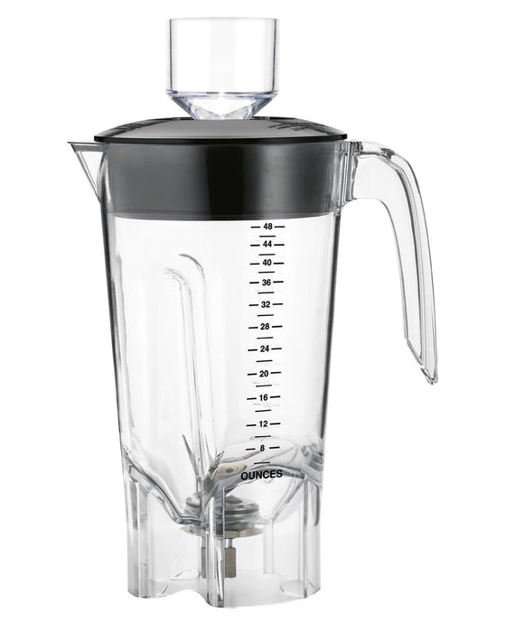 Hamilton Beach HBF500 Expeditor Culinary Blender/Food Processor - 48 Oz/1.4L, 1 HP - Omni Food Equipment