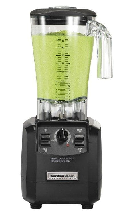 Hamilton Beach HBH550 The Fury Commercial Blender with Manual Controls - 64 Oz/1.8L Capacity, 3 HP - Omni Food Equipment