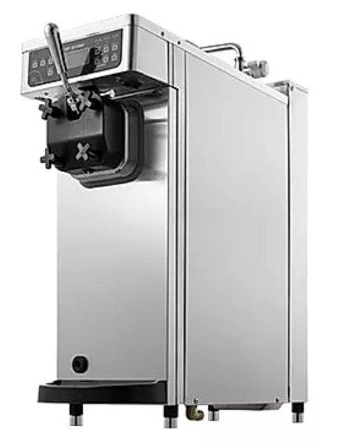Icetro ISI-161TH Single Flavour Soft Serve Ice Cream Machine with Heat Treatment - 26.5LBS/HR Output - Omni Food Equipment