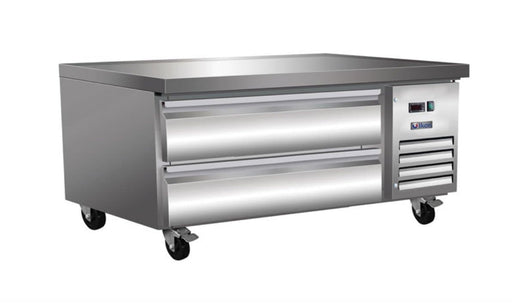 "Ikon ICBR50 Refrigerated 50"" Chef Base - Accommodates up to 4"" Deep Pans - Omni Food Equipment"