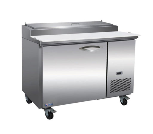 "Ikon IPP47 Single Door 47"" Refrigerated Pizza Prep Table - Various Configurations - Omni Food Equipment"