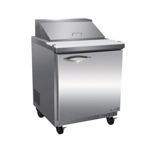 "Ikon ISP29 Single Door 29"" Refrigerated Sandwich Prep Table - Various Configurations - Omni Food Equipment"