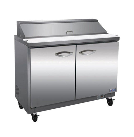 "Ikon ISP36 Double Door 36"" Refrigerated Sandwich Prep Table - Omni Food Equipment"