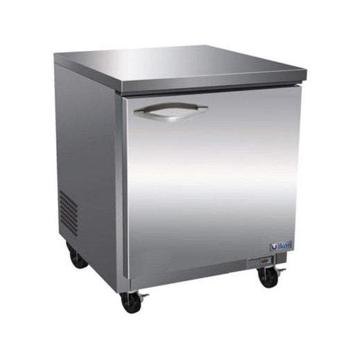 "Ikon IUC28R Single Door 28"" Refrigerated Work Table - Various Configurations - Omni Food Equipment"