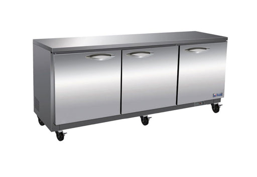 "Ikon IUC72R Triple Door 72"" Refrigerated Work Table - Omni Food Equipment"