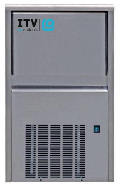 ITV ALFA NDP55 Ice Machine, Gourmet Ice Shape - 44LBS/24HRS, 11LBS Storage - Omni Food Equipment