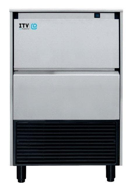 ITV ALFA NG135 Ice Machine, Gourmet Ice Shape - 130LBS/24HRS, 44LBS Storage - Omni Food Equipment