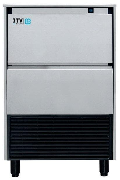ITV ALFA NG265 Ice Machine, Gourmet Ice Shape - 270LBS/24HRS, 123LBS Storage - Omni Food Equipment