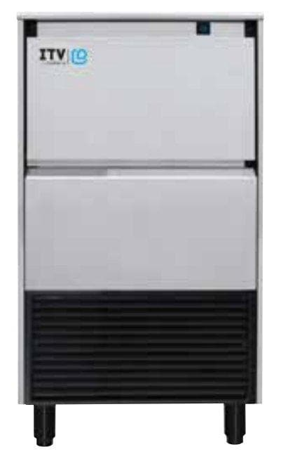 ITV ALFA NG75 Ice Machine, Gourmet Ice Shape - 64LBS/24HRS, 24LBS Storage - Omni Food Equipment
