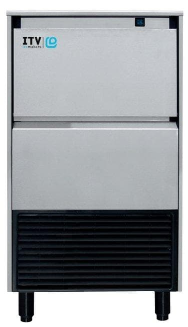 ITV ALFA NG95 Ice Machine, Gourmet Ice Shape - 95LBS/24HRS, 37LBS Storage - Omni Food Equipment