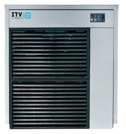 ITV IQ 300 Modular Ice Machine, Flake Ice - 360LBS/24HRS (BIN SOLD SEPARATELY) - Omni Food Equipment