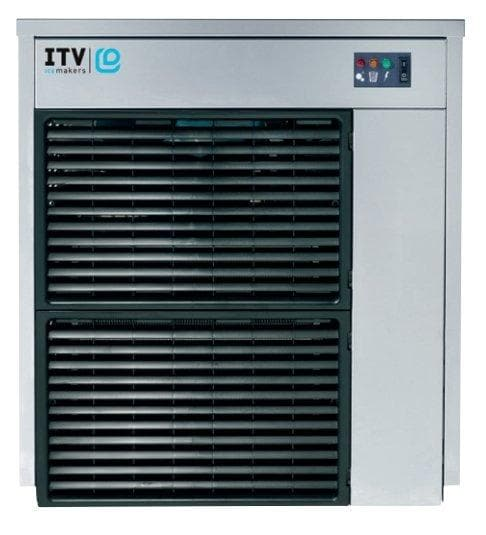 ITV IQ 500 Modular Ice Machine, Flake Ice - 675LBS/24HRS (BIN SOLD SEPARATELY) - Omni Food Equipment
