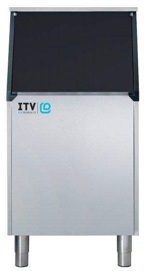 ITV S-400-22 Ice Storage Bin for Modular Ice Machines - 400LBS Maximum Ice Capacity - Omni Food Equipment