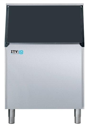 ITV S-500 Ice Storage Bin for Modular Ice Machines - 507LBS Maximum Ice Capacity - Omni Food Equipment