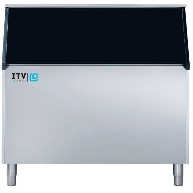 ITV S-900 Ice Storage Bin for Modular Ice Machines - 860LBS Maximum Ice Capacity - Omni Food Equipment