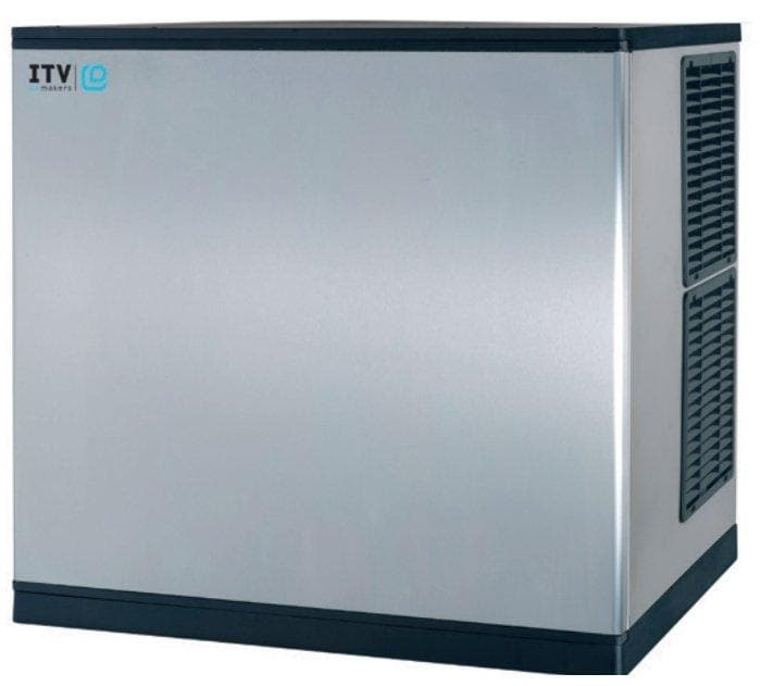 ITV SPIKA MS1000 Modular Ice Machine, Cube Shaped Ice - 970LBS/24HRS (BIN SOLD SEPARATELY) - Omni Food Equipment