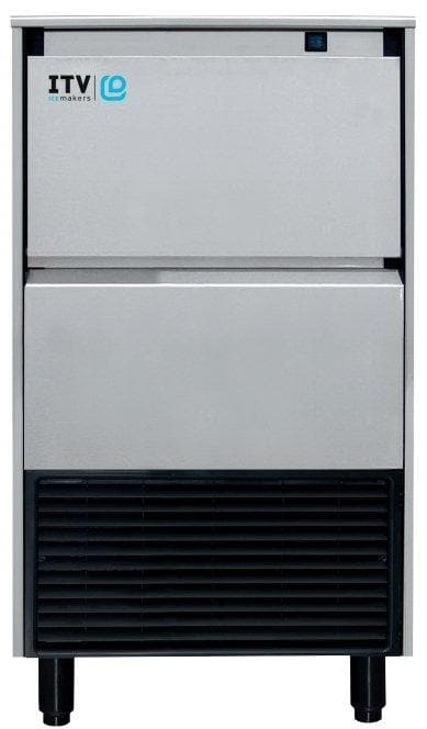 ITV SPIKA NG125 Ice Machine, Cube Shaped Ice - 143LBS/24HRS, 44LBS Storage - Omni Food Equipment