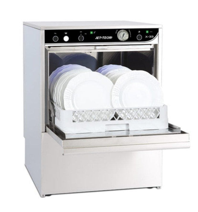 Jet-Tech X-33 Low-Temp Under Counter Dishwasher - Omni Food Equipment