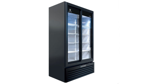 Beverage Air Glass Door Refrigerator MT49-1SDB