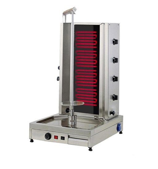 Omega 4EU-W Electric 4 Burner Shawarma/Doner Broiler - Omni Food Equipment