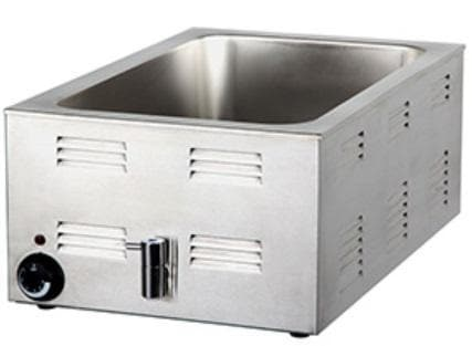 Omega 7701 Full Size Stainless Steel Electric Food Warmer - Omni Food Equipment