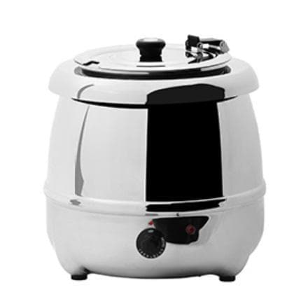 Omega AT51588S Stainless Steel 10L Electric Soup Kettle - Omni Food Equipment