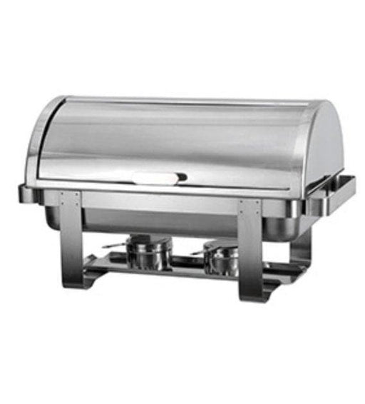 Omega AT721R63-1 Economy Full Size Roll Top Stainless Steel Chafing Dish Set - Omni Food Equipment