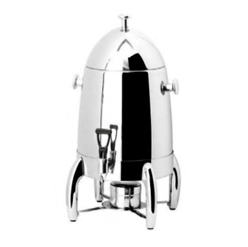 Omega AT80019 Large 19L Stainless Steel Coffee Urn with Fuel Holder - Omni Food Equipment