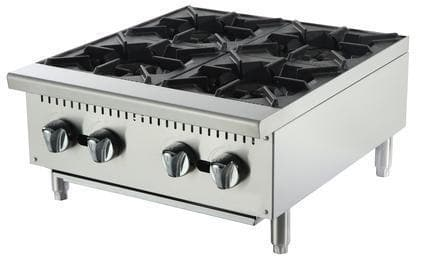 Omega ATHP-24-4 Natural Gas/Propane 4 Burner Hot Plate - Omni Food Equipment