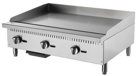 "Omega ATMG-36 Natural Gas/Propane 36"" Griddle - Omni Food Equipment"