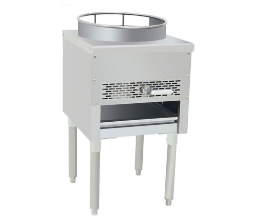 Omega ATW-16 Natural Gas Wok Range - Omni Food Equipment