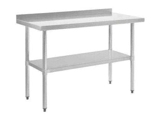 Omega ELITE 16 Ga. (1.5mm) Stainless Steel Work Tables - Various Sizes - Omni Food Equipment
