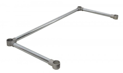 Omega End Bar Supports - Various Sizes - Omni Food Equipment
