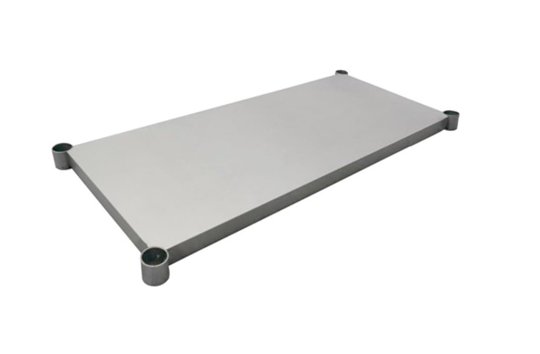 Omega Extra Stainless Steel Table Under Shelves - Various Sizes - Omni Food Equipment