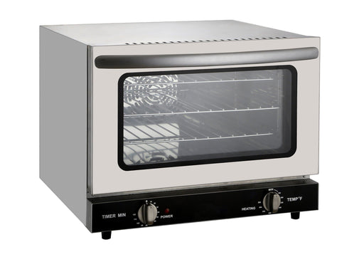 Omega FD-21 Electric Counter Top Convection Oven - 120V, Fits 3 1/4 Size Sheet Pans - Omni Food Equipment