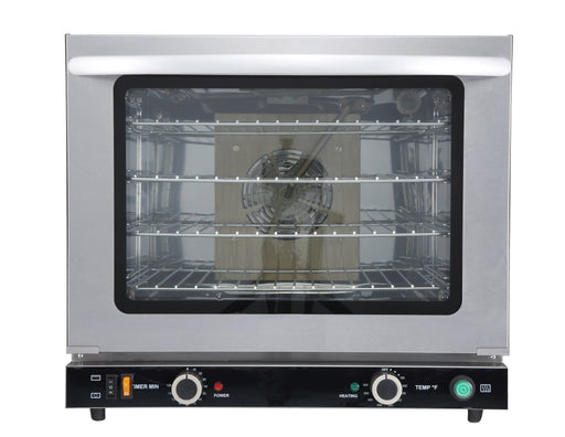 Omega FD-66G Electric Counter Top Convection Oven With Grill & Humidity - 208-240V, Fits 1/2 Size Sheet Pans - Omni Food Equipment