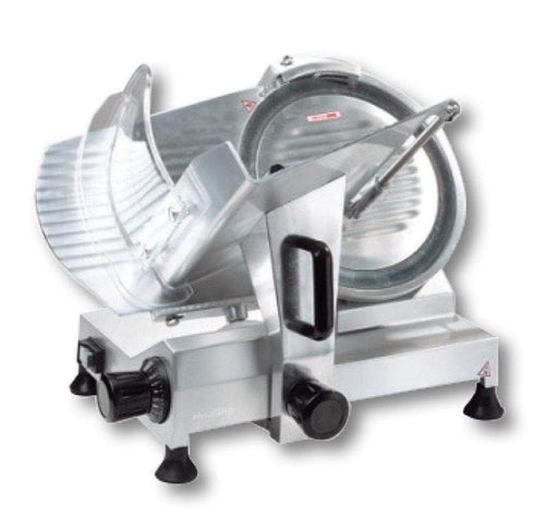 "Omega HBS-300 Manual Aluminum Meat Slicer - 12"" Blade, 1/3 HP, Belt Drive - Omni Food Equipment"