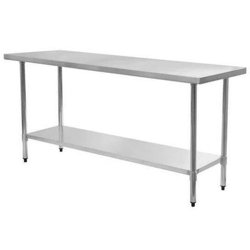 Omega HEAVY DUTY 16 Ga. (1.5mm) Stainless Steel Work Table - Various Sizes - Omni Food Equipment