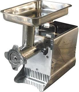 "Omega HFM-12 Size 12 Meat Grinder - 13.5"" x 8.5"" Feeding Pan, 3/4 HP, 120V - Omni Food Equipment"