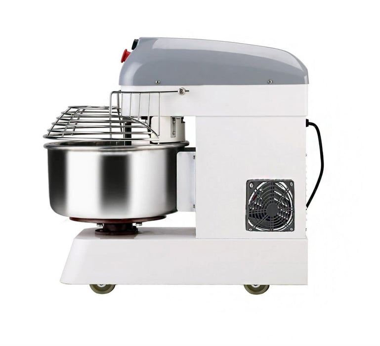 Omega HM20B Single Speed Commercial Spiral Mixer - 20Qt Capacity, Single Phase - Omni Food Equipment