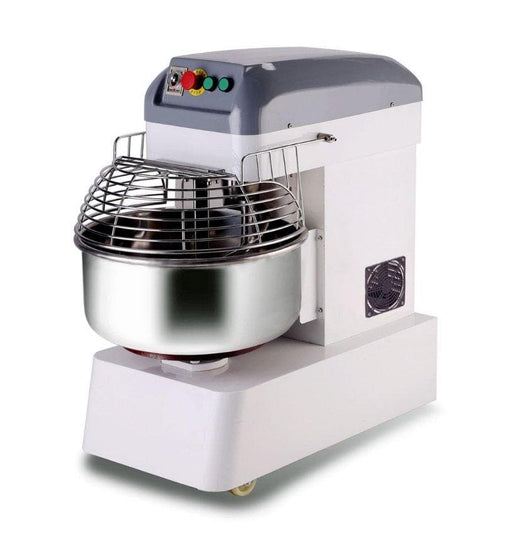 Omega HM40S Dual Speed Commercial Spiral Mixer - 40Qt Capacity, Three Phase - Omni Food Equipment